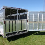 back gate aluminum trailer
